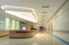 Hospital wall panel